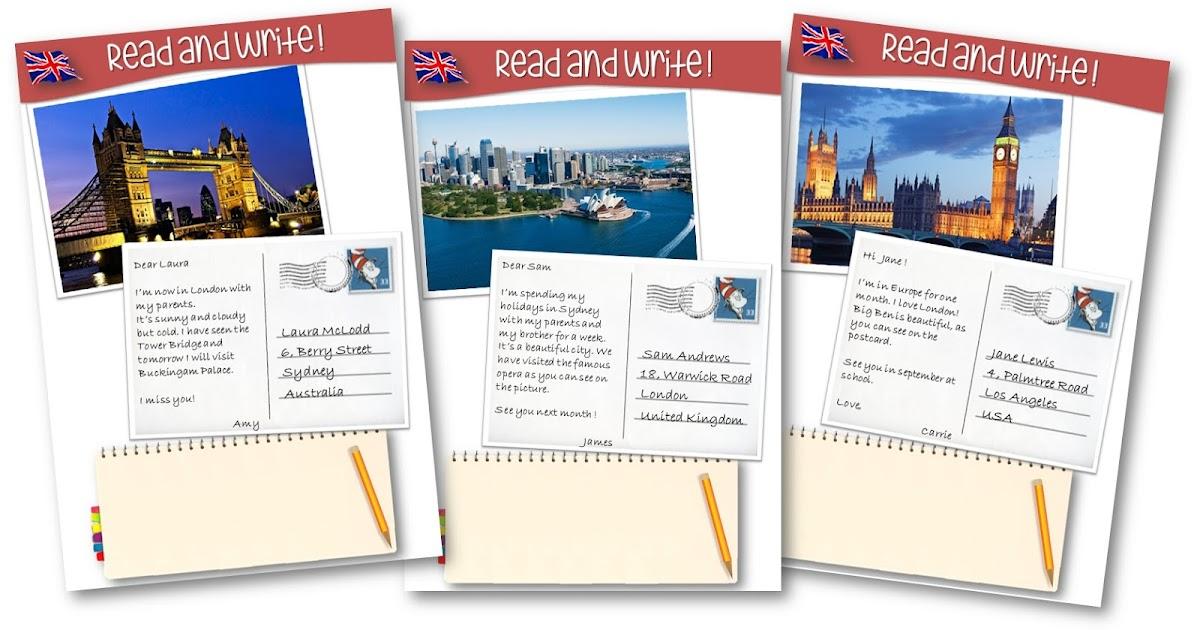 Célèbre Teacher Charlotte: Des cartes postales de pays anglophones pour  CP82