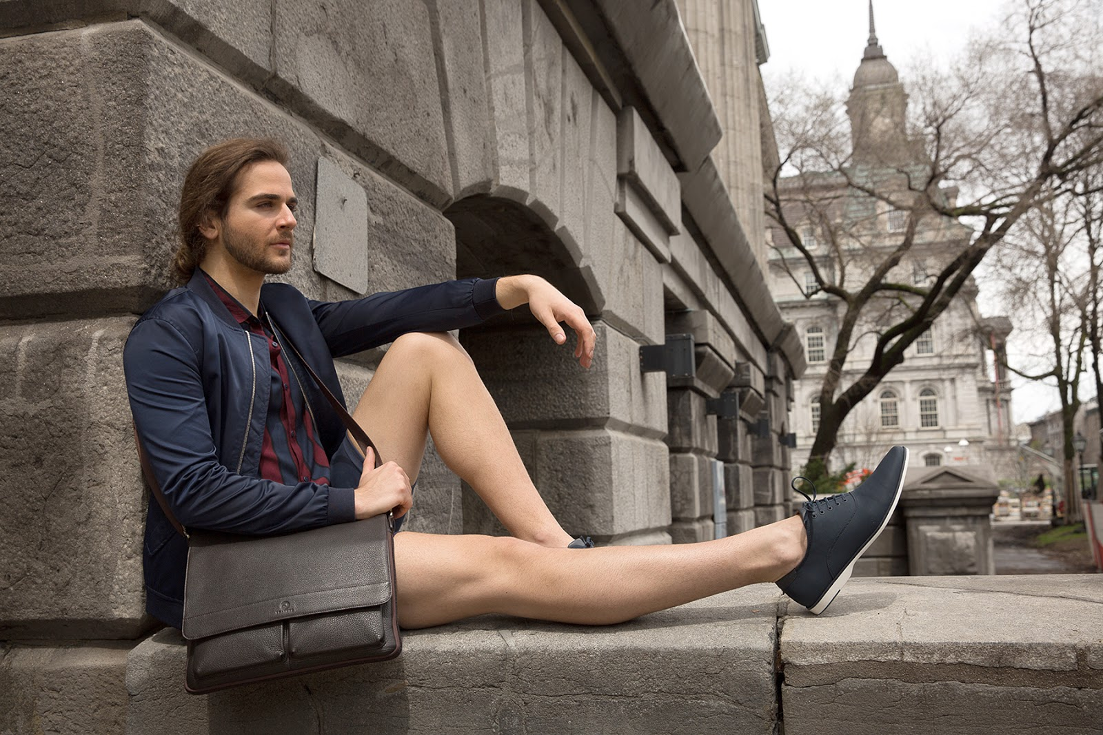 Leading Leather Brand Mcjim Shoots New Ad Campaign In Montreal Canada Bettina Heels Belka Black Hitam 39 Classic Leathers Authentic Bags Never Go Out Of Style Whether Official Businesses Or Casual Gatherings