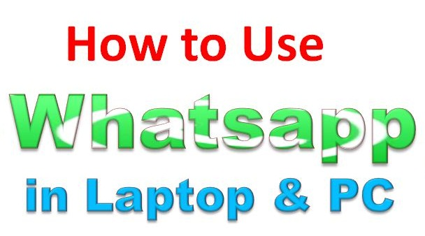 How to use Whatsapp in Computer without android software