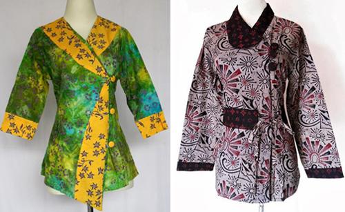 12 Contoh Gambar Model Baju Batik Terbaru