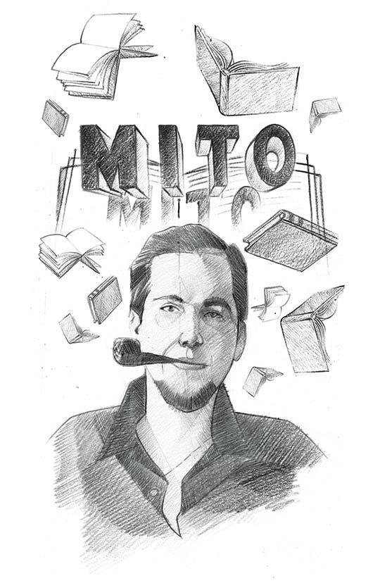 Retrato de Jorge Gaitán Durán por Marco Pinto