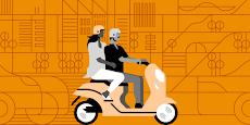 Bagaimana Ojek Online Menjadi Sumber Mata Pencaharian Bagi Pemuda India?
