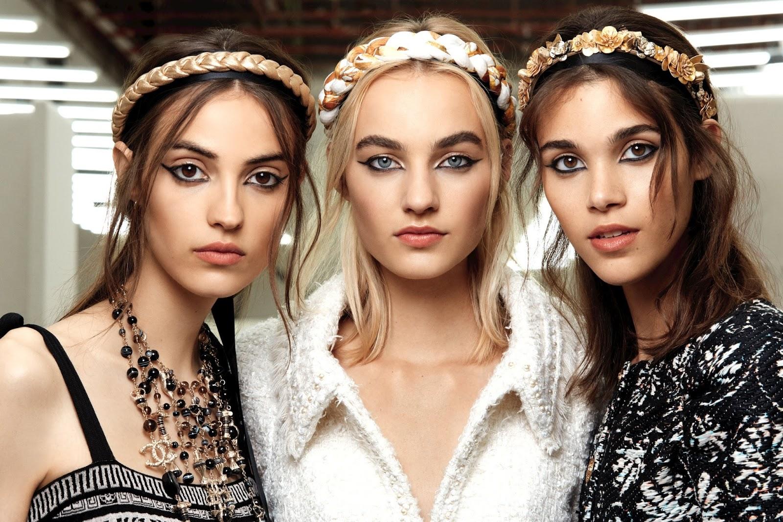d4093bacd La inspiración beauty de Chanel en su colección crucero 2017 - 2018: la  antigua Grecia