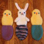 http://craftyiscool.blogspot.com.es/2017/04/easter-basket-babies-free-crochet.html