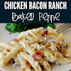Chicken Bacon Ranch Baked Penne