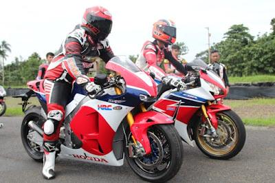 Konsumen CBR250RR jajal Honda RC213V-S