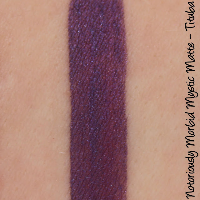 Notoriously Morbid Mystic Matte - Tituba Swatches & Review