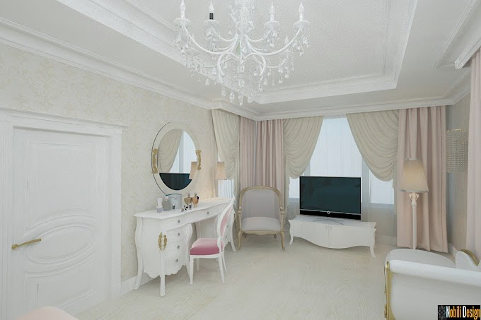 Firma amenajari interioare Constanta | Amenajare interioara casa cu mansarda stil eclectic