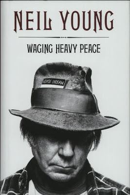 Waging Heavy Peace by Neil Young - book cover