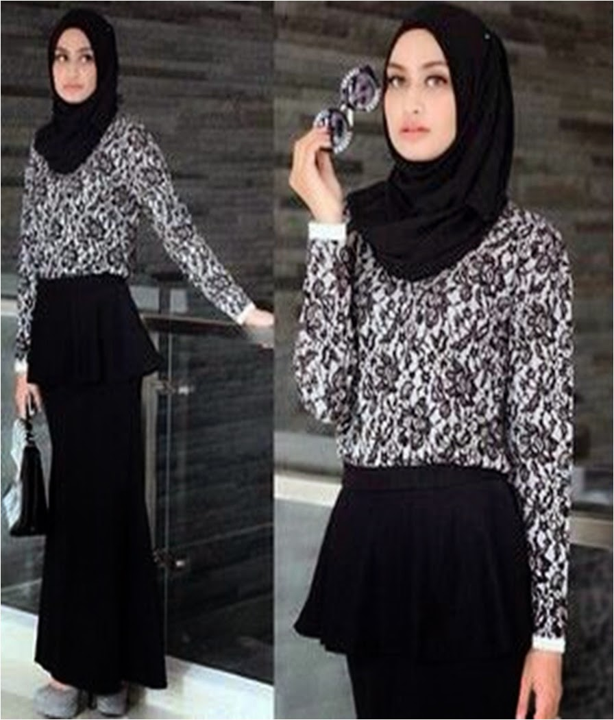 SALE RM60 include postage Lace Design Peplum Style Dress Including Shawl e5bf444f97