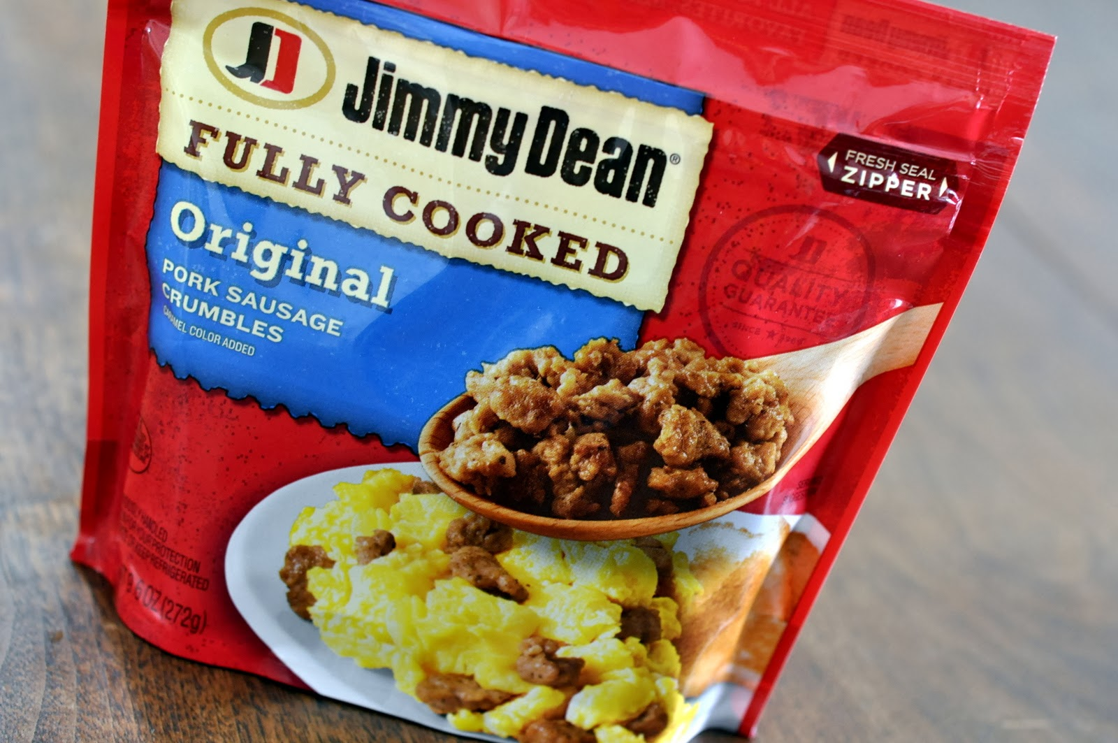 Jimmy Dean Fully Cooked Original Pork Sausage Crumbles | Taste As You Go #JDCrumbles