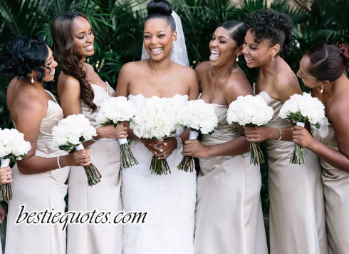letter to the bride on her wedding day from bridesmaid