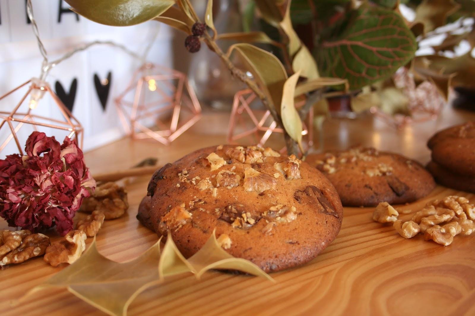 cookies chocolat orange noix