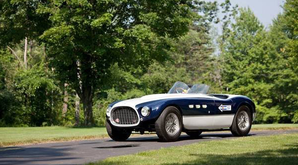 1953 Ferrari 340 MM Touring spider Pictures Gallery