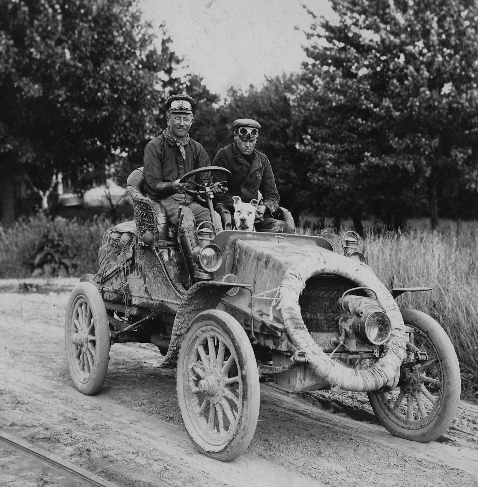 Just A Car Guy: the first automobile to successfully transit the ...