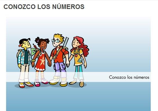 """""""Conozco los números"""" (Matemáticas de 3º y 4º de Primaria). Editorial Santillana."""