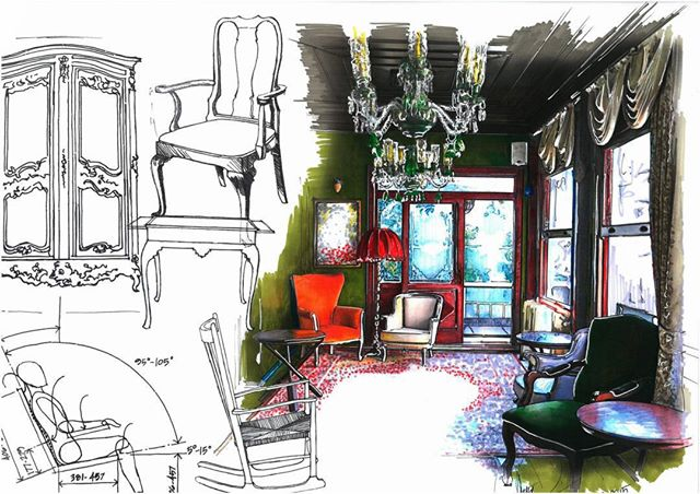 23-Ayşe-Bakır-Versatility-in-Eclectic-Colored-Drawings-www-designstack-co