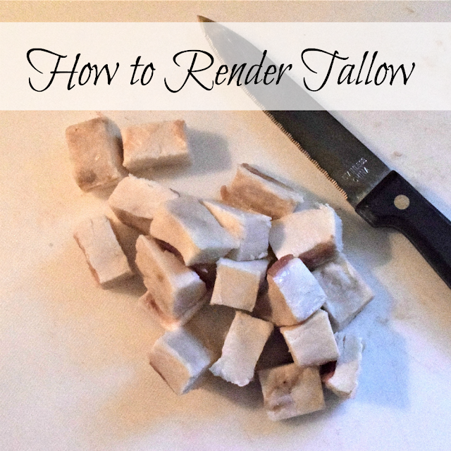 How to render tallow, and why you should