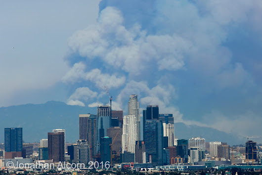 Fires And Record Heat In Los Angeles