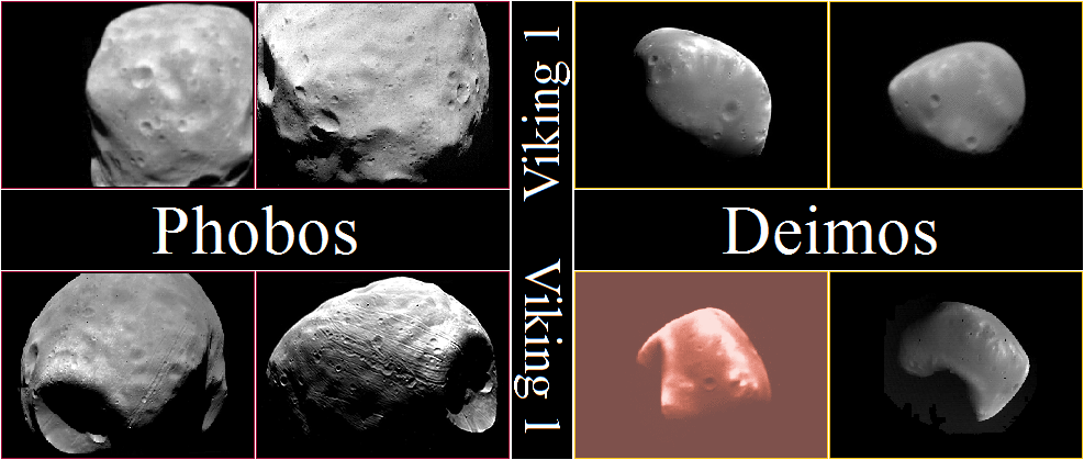 Mars Moons: Mars Moons Gallery