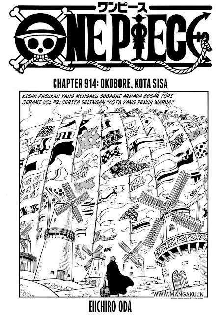 10 Fakta Tentang One Piece Chapter 914 yang Mungkin Terlewatkan