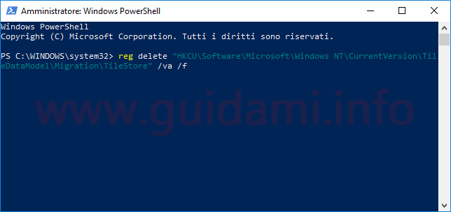 PowerShell in Windows 10