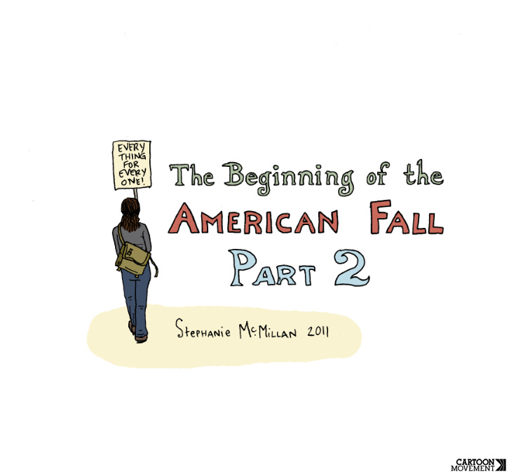 The Beginning of the American Fall, Part 2, by Stephanie McMillan