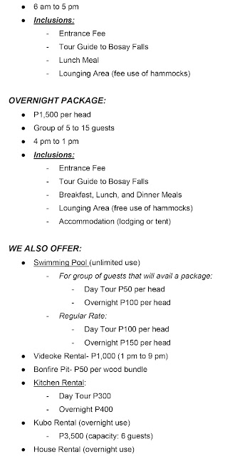treasure mountain tanay rates