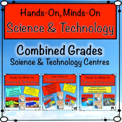 Combined Grade Science Centres from Teachingisagift