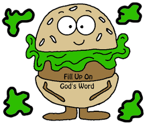 "Hamburger ""Fill Up On God's Word"" Craft"