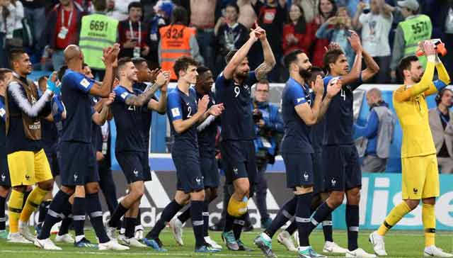 আবারও ফুটবল বিশ্ব চ্যাম্পিয়ন হলো ফ্রান্স