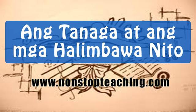 Ang Tanaga at ang mga Halimbawa Nito