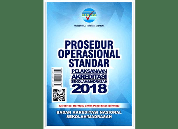 POS Pelaksanaan Akreditasi Sekolah-Madrasah 2018