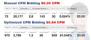 Mejorar tasa de CPM de los banners