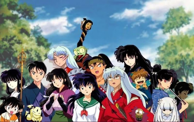 Kumpulan Foto Inuyasha dan Teman-teman Dan Video Animasi Inuyasha