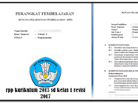 RPP Kelas 2 Tema 5 Semester 2 k13