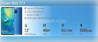 1. Huawei Mate 20 X