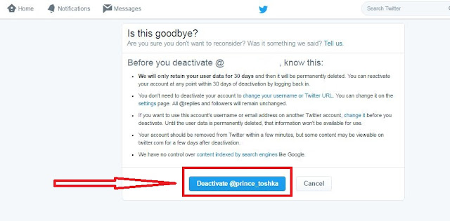 how to delete your twitter history
