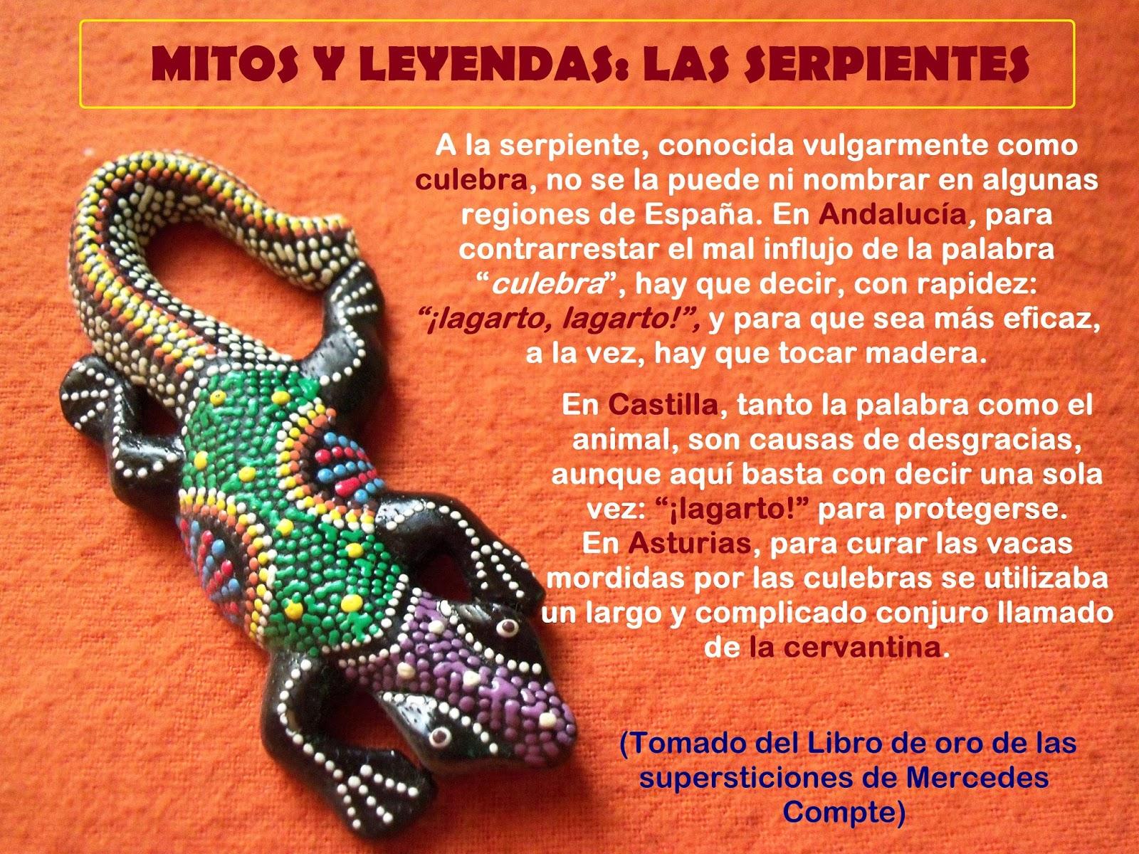 Caminos Y Senderos Espa Oles Mitos Y Leyendas Las Serpientes # Muebles Marga Getafe