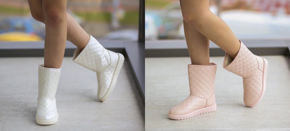 Cizme UGG 2016 ieftine la moda albe, roz online
