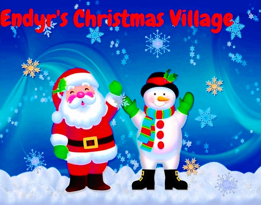 Visit Endyr's Christmas Village By Clicking On The Image Below