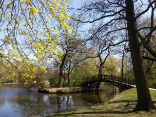 Johannapark im Frühling