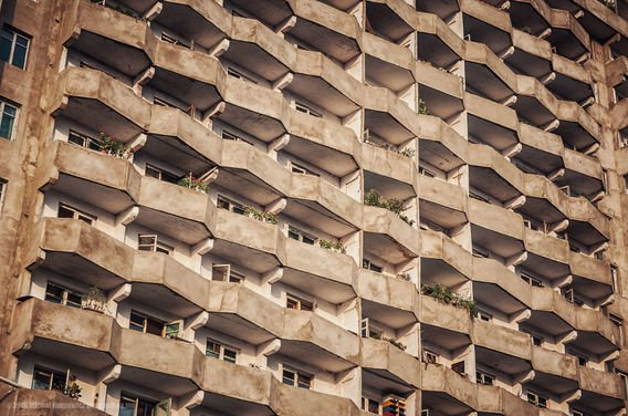 Tempat tinggal para warga Korea Utara