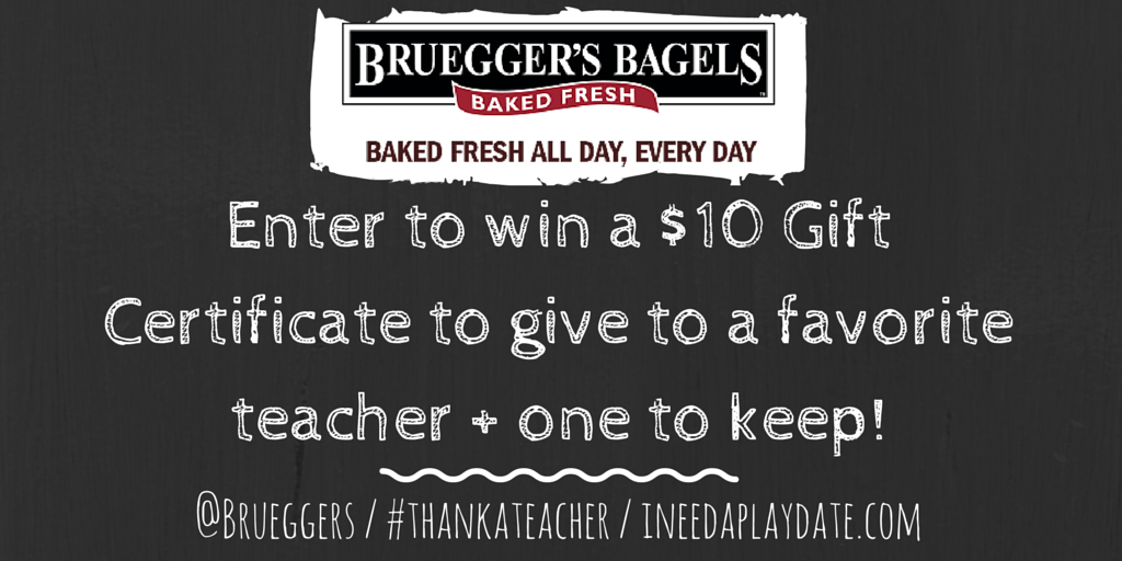 Enter to win from Brueggers