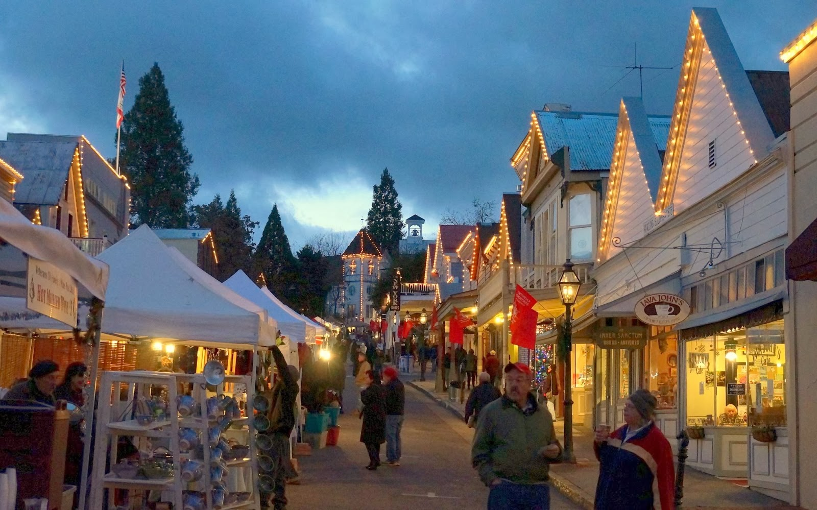 Eterritorial Dispatch Nevada City Victorian Christmas