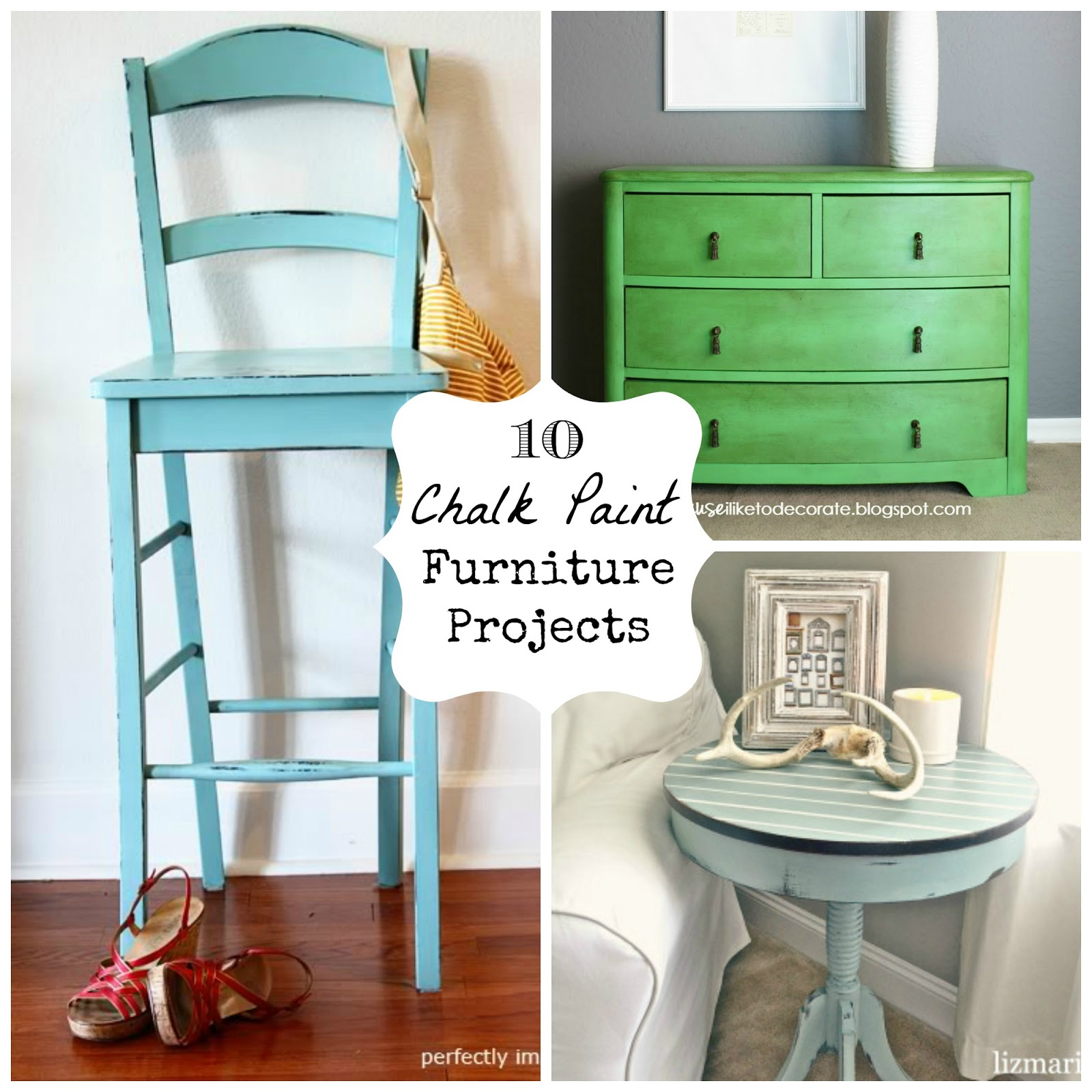 Chalk Paint Chairs 10 Chalk Paint Furniture Projects Fun Home Things