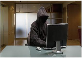 black hat hacker الهاكرز القبعة السوداء المهووس للمعلوميات الحماية الأمن المعلوماتي