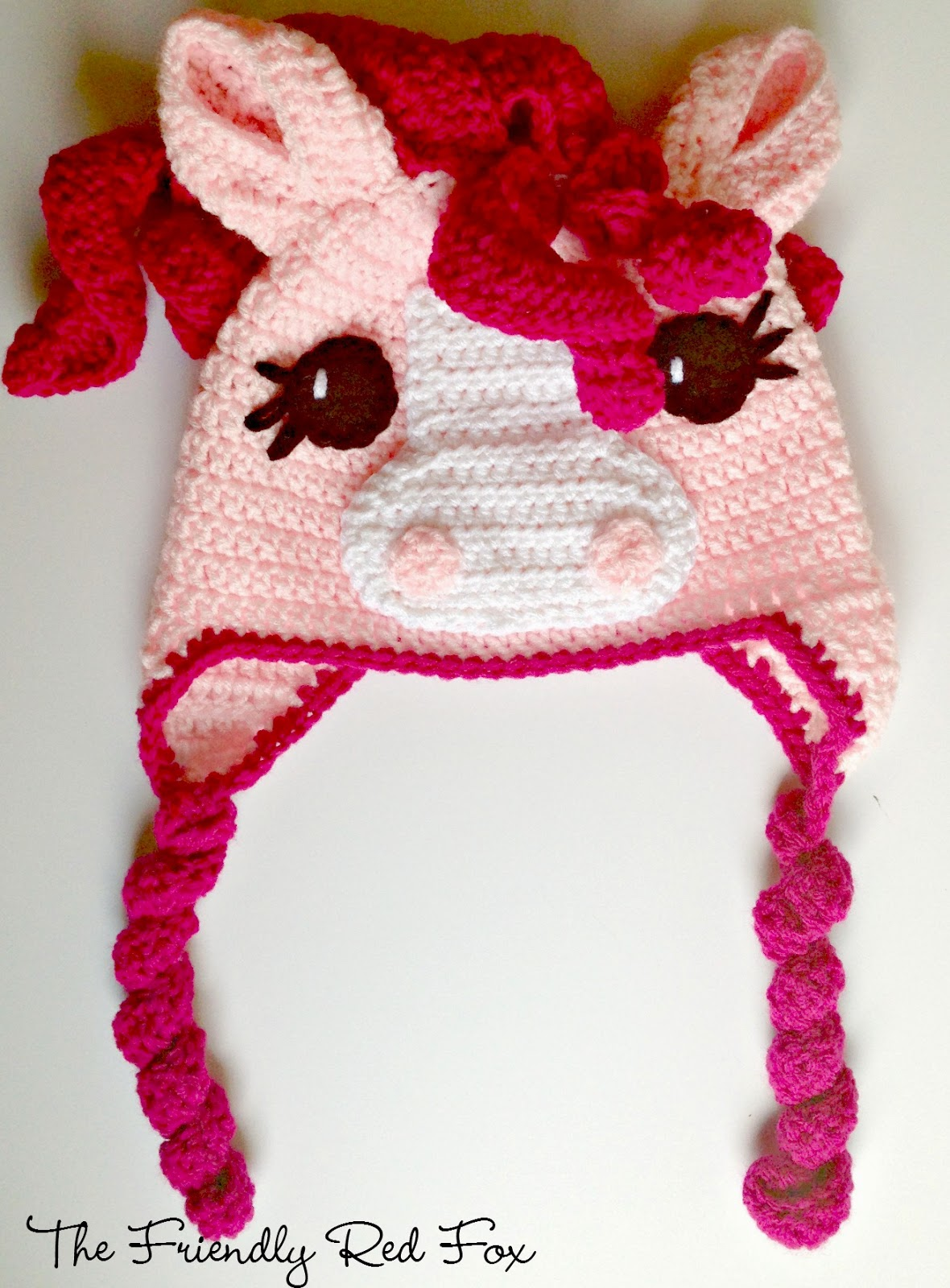 Well-liked Free Crochet Little Pony Hat - thefriendlyredfox.com QA66