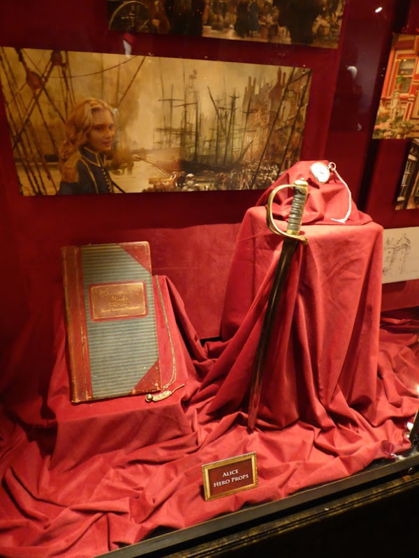 Alice Through the Looking Glass movie props