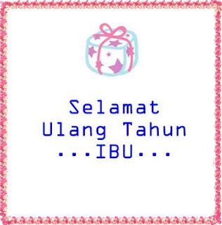 Gambar DP BBM Ucapan Selamat Ulang Tahun Untuk Ibu